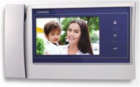 Видеодомофон Commax CDV-70K бело-синий.